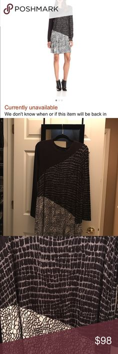 🎉HP 💋GET IT HERE‼️BCBG Max Azria Marlow Tunic Get it here‼️ Not currently available and may never be! Wear as a dress or pair w cute leggings and boots. Super soft and comfy ☺️ BCBGMaxAzria Dresses Midi