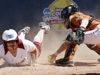 COLLEGE SOFTBALL: Women's College World Series resumes after storms