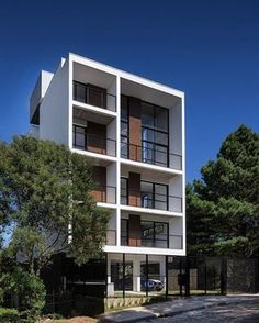 Lovely Apartments Exterior Design : Beautiful Modern Apartment ...