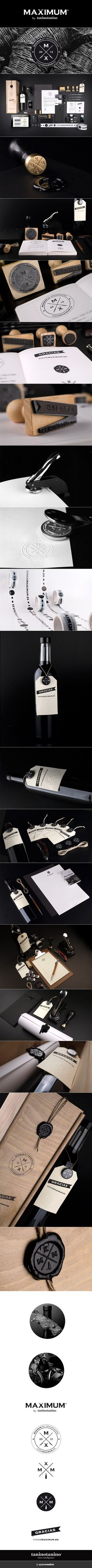 MAXIMUM BY TANINOTANINO - SPAINCREATIVE identity and packaging
