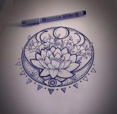 ... Flower Tattoos on Pinterest | Flower tattoos Tattoos and Lotus tattoo