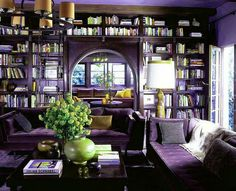 Purple library... Oh yeah!!