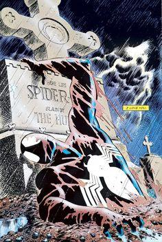 Comics Spiderman, Spiderman Kunst, Black Spiderman, Marvel Comics Art, Amazing Spiderman, Marvel Heroes, Ms Marvel, Captain Marvel, Comic Book Characters