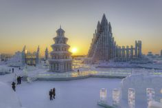 Harbin, the Magical Chinese City (Temporarily) Made of Ice - Condé Nast Traveler