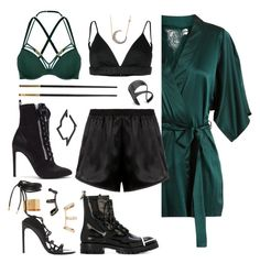 Loki by alicepardus on Polyvore featuring polyvore, fashion, style, Givenchy, Fleur of England, Morgan Lane, Marlies Dekkers, Giuseppe Zanotti, Tom Ford, Alexander Wang, Renee Lewis, Repossi, Lynn Ban, Versace and clothing