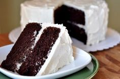 Unbelievable Chocolate Cake -- Made this tonight to go with the magical frosting. Incredible!!!!