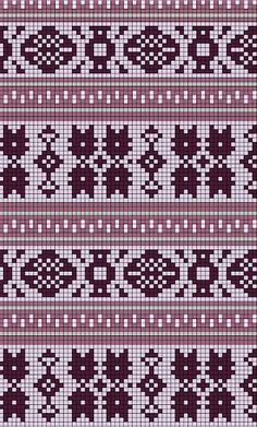 Sewing ♥ Vintage ♥ Knitting: Home Sweet Home and a new knitting project Knitting Charts, Knitting Stitches, Knitting Designs, Knitting Projects, Knitting Patterns, Motif Fair Isle, Fair Isle Chart, Loom Patterns, Cross Stitch Patterns