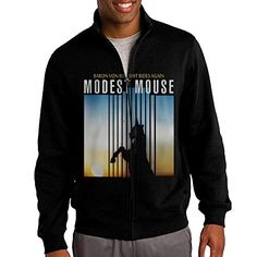 NHJH Mens Modest Mouse Baron Von Bullshit Rides Again ZipUp Hooded Sweatshirt Jackets Black Size XL *** You can get additional details at the image link.(This is an Amazon affiliate link and I receive a commission for the sales) #ExerciseandFitnessMensClothing