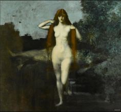 Jean Jacques HennerThe Goddess of Truth