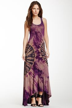 Go Couture Racerback Hi-Lo Maxi Dress by Go Couture @nordstrom_rack - (don't like hi-lo hems but this dress is cute)