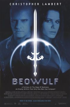 Beowulf 1999 Movie Poster 27x40 Used Christopher Lambert