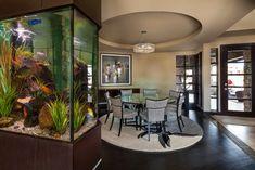 Aquarium - Shadow Hill - modern - dining room - denver - Duet Design Group