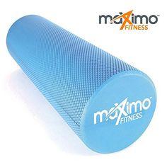 Blue, 6-Inch x 18-Inch Pro-Tec Athletics Foam Roller Crosstrainer