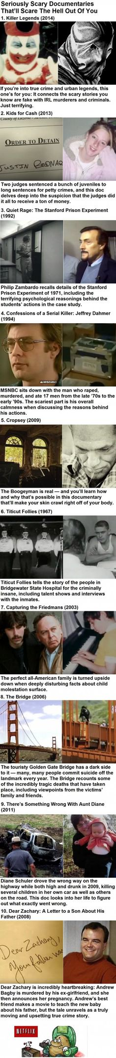 Seriously Scary Documentaries That'll Scare The Hell Out Of You