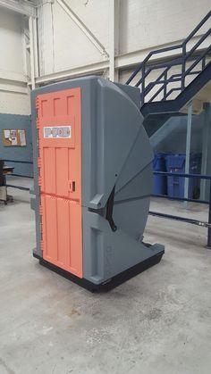 Chicago Bears Porta Potty. Boys Bathroom Locker