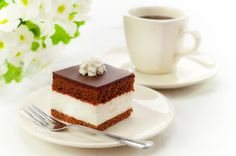 There is nothing better than a piece of chocolate cake with aromatic coffee... :)