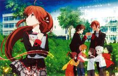 Little Busters Refrain || Rin's arc was probably the best in this anime. Read my review for Refrain here: http://www.animedecoy.com/2015/07/little-busters-refrain-review.html Who else has seen this anime? And what did you think about it?