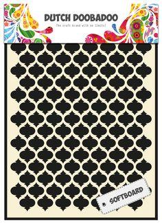 478.007.007 Dutch Doobadoo Softboard Art RoofTile