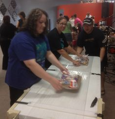 Fuel Community Church Volunteer Packing Event for kidsPACK