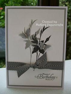 MaKing Papercrafts: Birthday Card & Gift Box