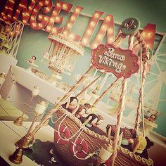 """""""Barco Viking <3 #parquedediversõesangelina decoração @danyperesdesign e @ingridcarrara. Cenários comestíveis @docices   @chicozinneck produção @scrapdafilo""""   http://instagram.com/danyperesdesign/"""
