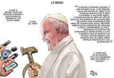 Por Dentro... em Rosa: A guerra do capitalismo ao papa