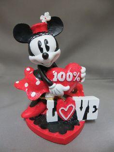 Minnie Mouse Figurine -- from CVS Pharmacy