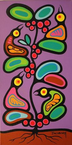 Canadian First Nations Artist Mark Anthony Jacobson, Shemanic Artist of the Contemporary Woodland Art Movement Inuit Kunst, Arte Inuit, Inuit Art, Kunst Der Aborigines, South American Art, Indian Folk Art, Native Indian, Woodland Art, Native American Artists