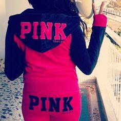 <3 victoria's secret PINK outfit