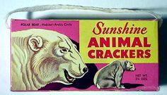 polar bear animal crackers