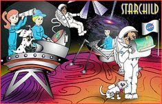 www.StarChild.de dunkle Materie, Quasare, Galaxien, Mondphasen, Sonnenfinsternis