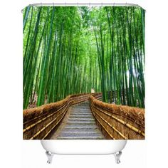 SHARE & Get it FREE | Bamboo Landscape Shower Curtain with HooksFor Fashion Lovers only:80,000+ Items·FREE SHIPPING Join Dresslily: Get YOUR $50 NOW!
