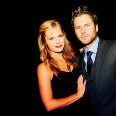 Maggie Lawson  &  James Roday