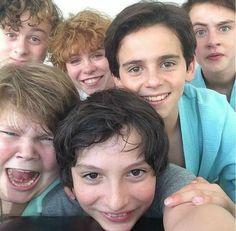 Cast of IT 2017
