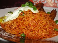 Jollof rice (With Basmati Rice)