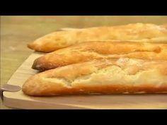 Pão baguete sem sova - YouTube