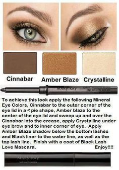 Mary Kay makeup combinations.  Smoky Eye.   http://www.marykay.com/lisabarber68 call or text me 386-303-2400