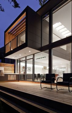 House by Taylor Smyth Architects - I particularly like the way this balcony comes out.