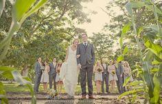 Featured Wedding: Whitney & Mark's Vintage Chic Ranch Wedding