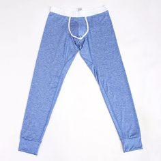 b3f358d2ab Hot-sale Long Johns Men Thick Thermal High Elasticity U Convex Pouch  Sleepwear Butt Lifting