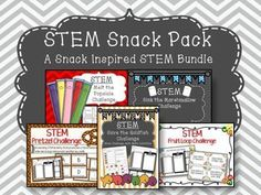 STEM Snack Pack is an exciting way to promote critical thinking skills and problem solving. Several snack inspired STEM activities including:STEM Goldfish ChallengeSTEM Popsicle ChallengeSTEM Marshmallow ChallengeSTEM Fruit Loop ChallengeSTEM Pretzel Challenge================================================I would love to hear from you, please leave me a rating & comment!