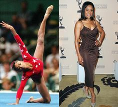 I used to watch Dominque Dawes every Olympic season.