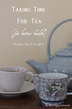 Making time for tea is not only a delicious habit, it can also be beneficial for your health in several ways!