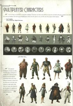 BioShock 2 Multiplayer Characters - The BioShock Wiki - BioShock, BioShock 2, BioShock Infinite, news, guides, and more