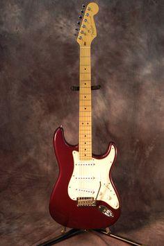1999 Burgandy Mist USA Fender Strat Guitar New Gigbag Pickguard WOW   eBay