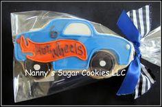 hot wheels cookie favor