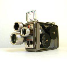 Kodak Brownie 8mm Movie Camera  Turret f/19 by Mylittlethriftstore, $50.00