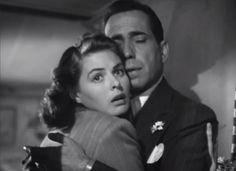 Ingrid Bergman and Humphrey Bogart, Casablanca (Michael Curtiz, 1942)