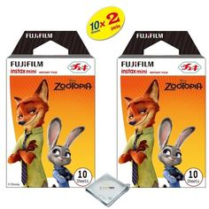 Fujifilm Instax Mini 8 Film For Fujifilm instax mini 8 camera 2PACK 20 Sheets Zootopia TW -- Check out the image by visiting the link.