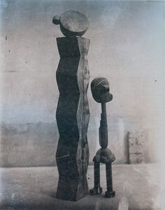 Constantin Brâncuşi, L'enfant au monde, groupe mobile, 1917